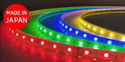 Viewdi Plus 赤色/緑色/青色/黄色 (DC24V テープライト)